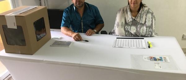 Inició la jornada electoral presidencial 2018 para la segunda vuelta en el Consulado de Colombia en Colón