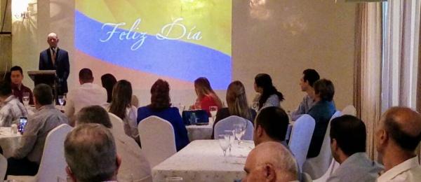 Embajador de Colombia en Panamá asistió al encuentro con empresarios de la Zona Libre