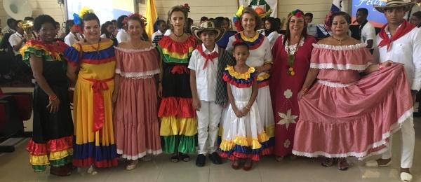 El Consulado de Colombia en Colón conmemoró el Día de la Independencia Nacional en 2007
